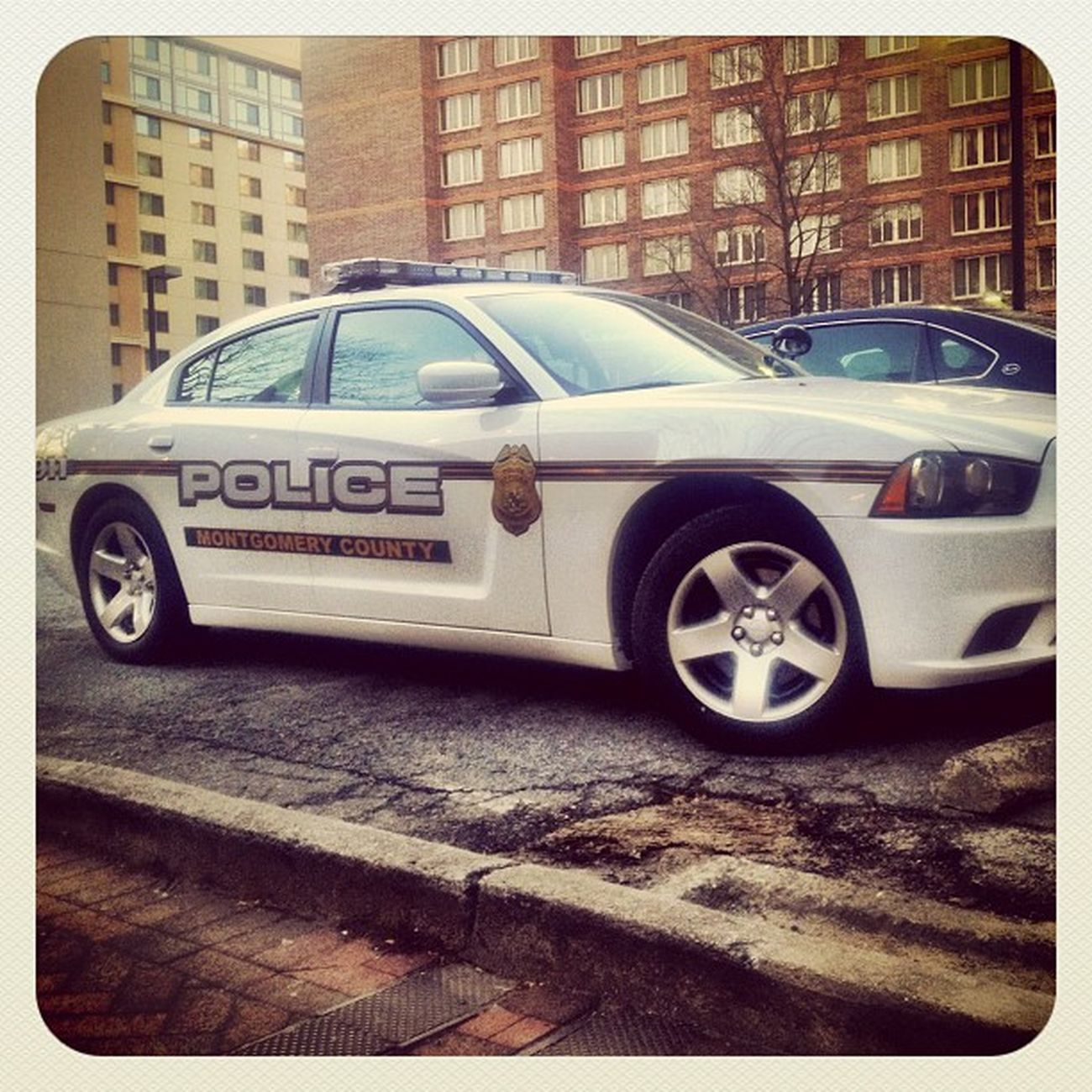 I am always amazed at the number of different Police we have in the DC area. IPhoneography Police Bethesda Charger Dodge Jomo Policecar Dodgecharger Patrolcar