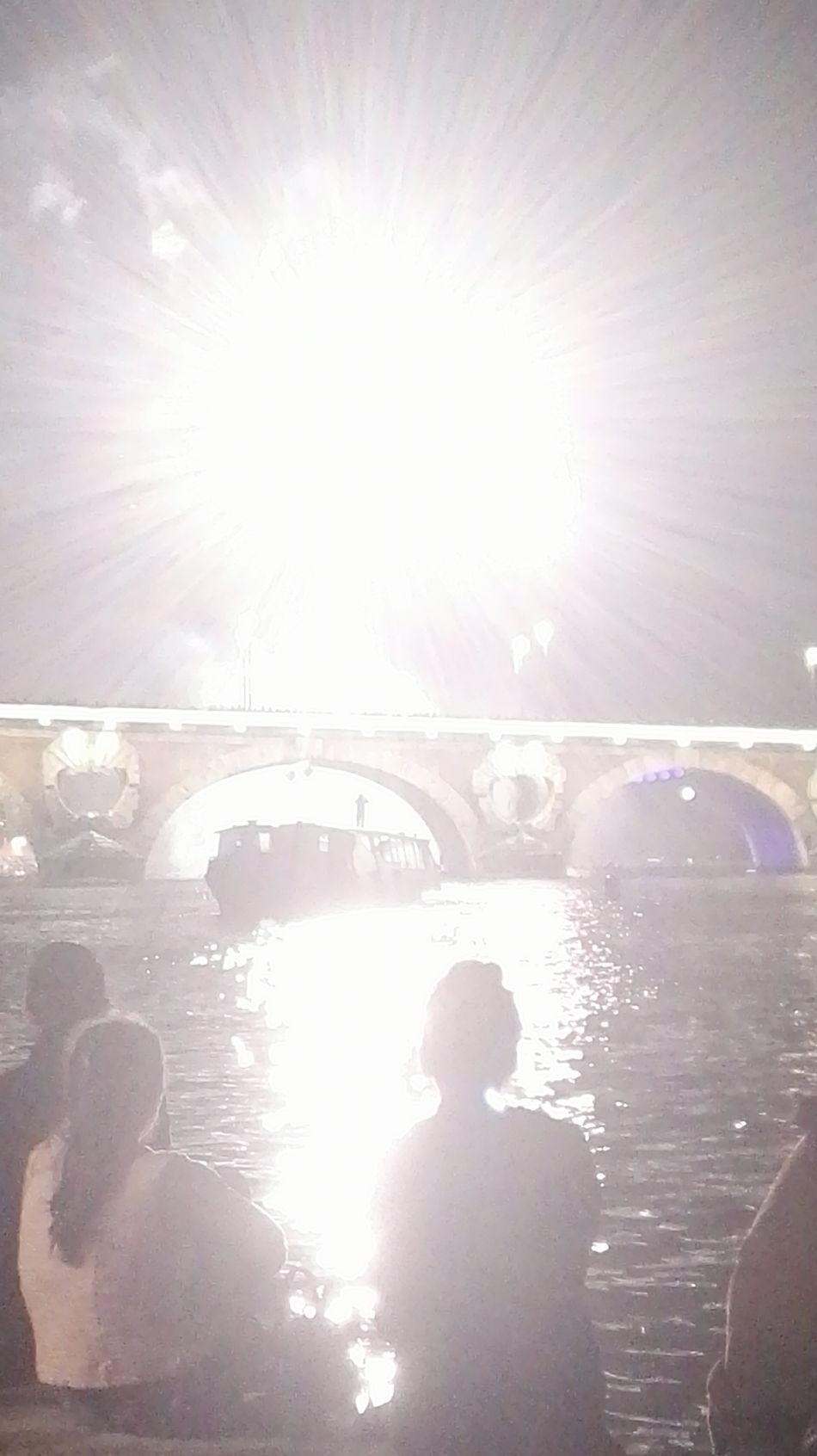 Fireworks 14juillet2016 Peace Sky Shadow Boat Light And Shadow Lights Enjoying Life Water Season