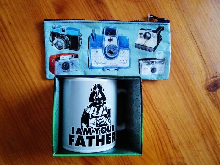 Vintage Camera & Darth Vader Joy The Store