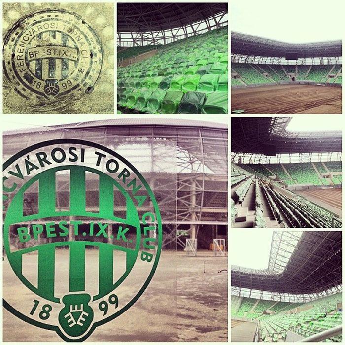 Hajrafradi Ferencváros FTC  Fradicimer Fradi Zöldfehér Ulloiut Uj Stadion New Stadium
