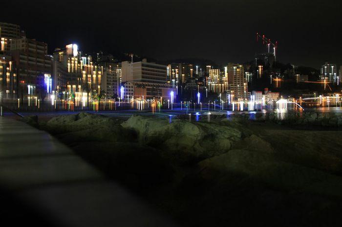 Night View EyeEm Best Shots - No Edit Nightphotography City Lights Night Lights No Edit Perfect Imperfection Blurred Lights Nightview