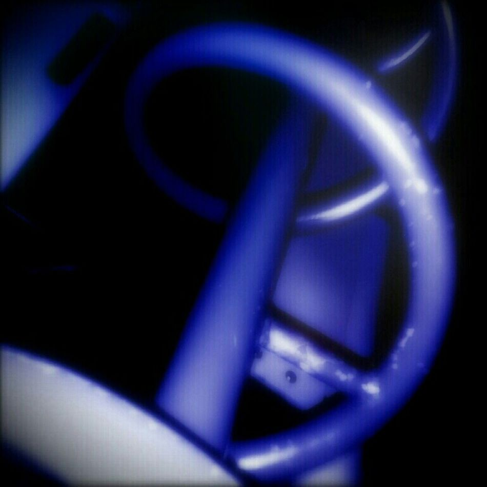 Spirals Blue Nightshot Softfocus