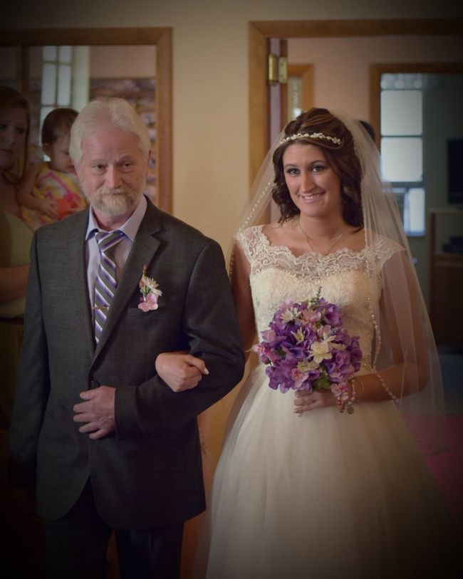 Real People Wedding Bride Father And Daughter Father Of The Bride Walking Wedding Dress Father Daughter