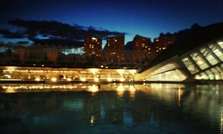 Valencia di notte ❤ Taking Photos Seesight Nigth  Hello World