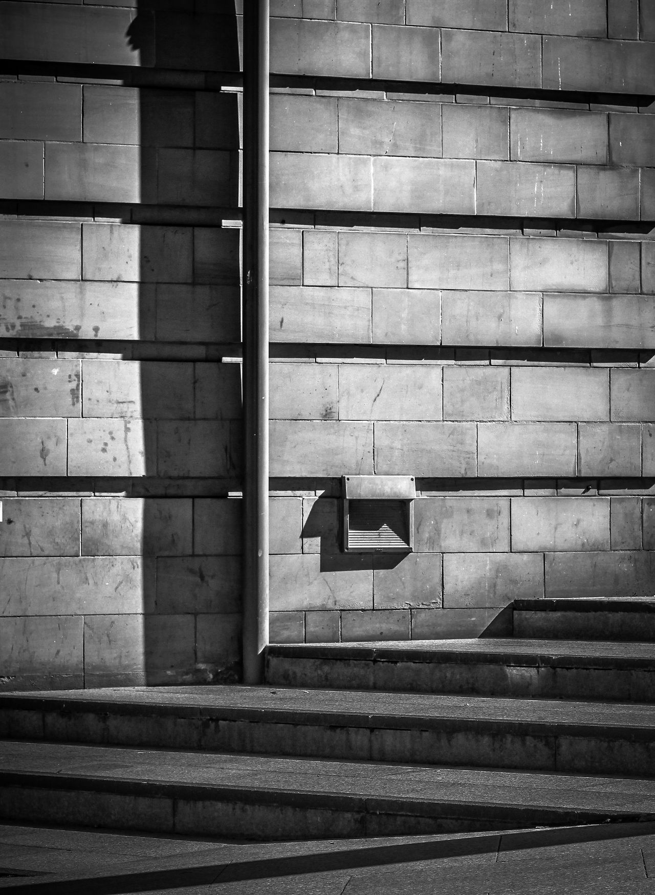 Architecture Black & White Blocks Building Exterior Built Structure City Day Minimal Minimalism Minimalism_bw Minimalist Minimalist Architecture Minimalistic No People Outdoors Shadow And Light Shadows & Lights Sombre Staircase Steps Steps And Staircases Urban Geometry