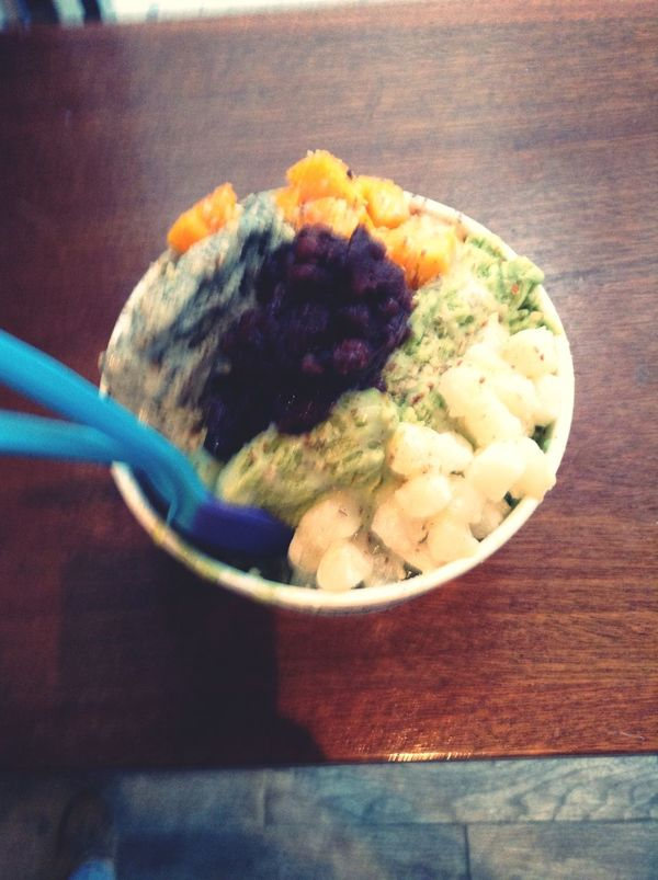 Part two of shaved ice Snowdays  NYC Foodadventure Vgvg Shavedice Dessert GotSeoul