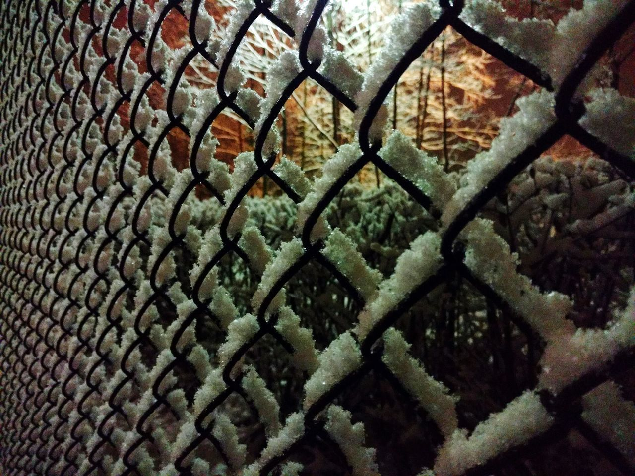 Snow Fence Light Shadow Light And Shadow Creative Trees Live Fence Street Lamp Moto X Play Wasiak Night Night Photography Selective Focus Pattern Pattern, Texture, Shape And Form Showcase March
