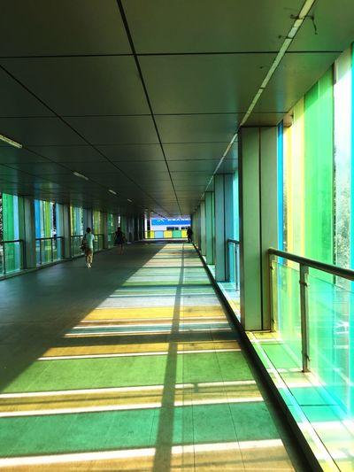 Architecture Built Structure The Way Forward Indoors  Transportation Illuminated Day Real People