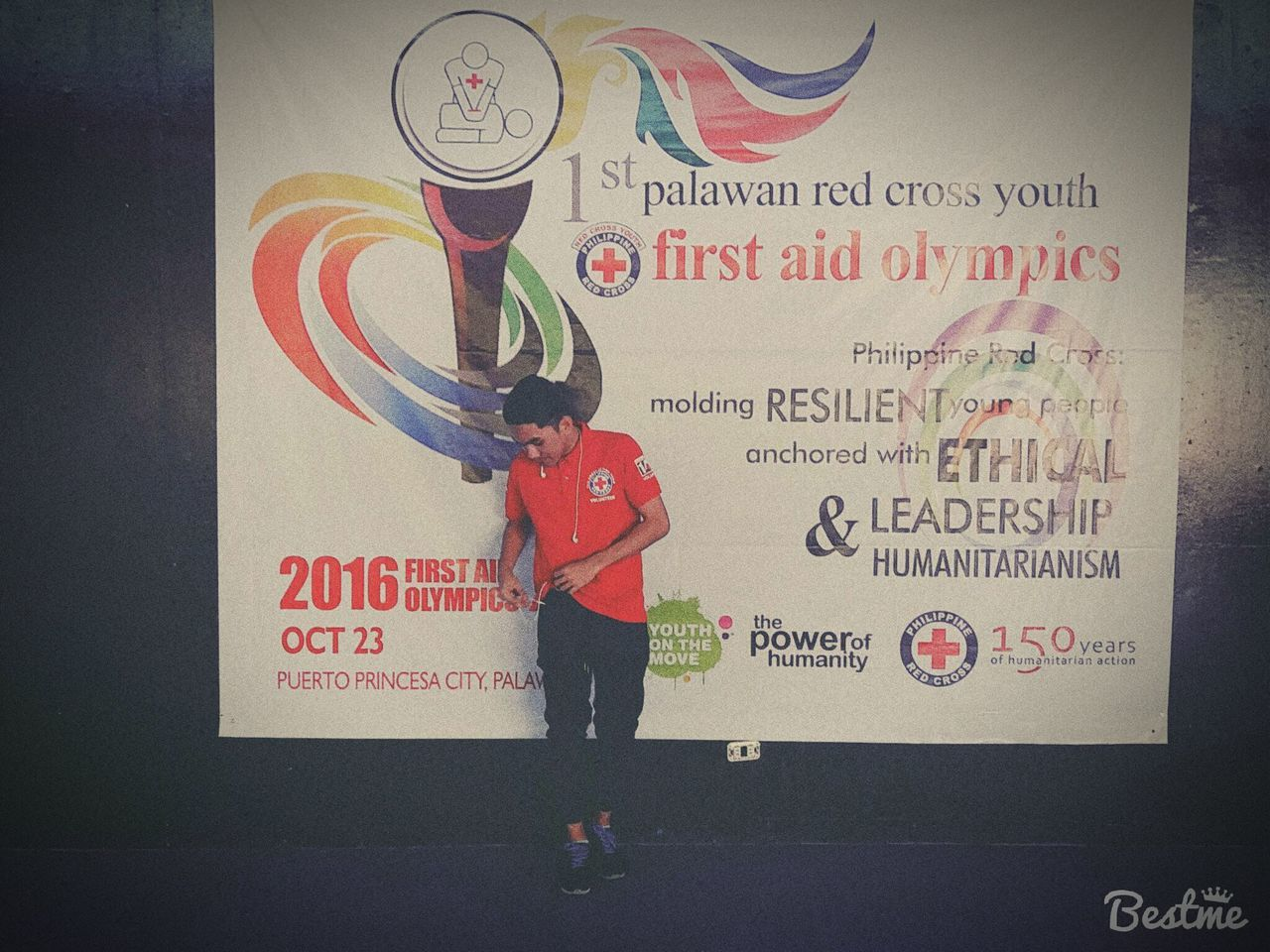H.Mendoza RedCrossPH Redcrossyouth RCYMonth FirstAidOlympic Palawan