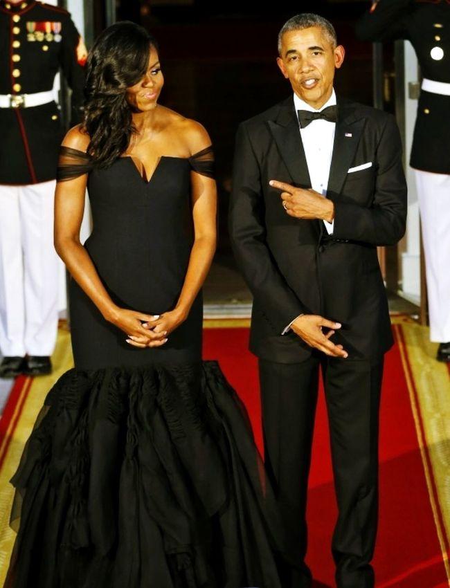 The first couple FLOTUS POTUS Obama ✊🏾 USA