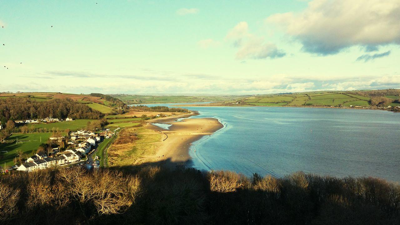 River River View Llansteffan Carmarthenshire