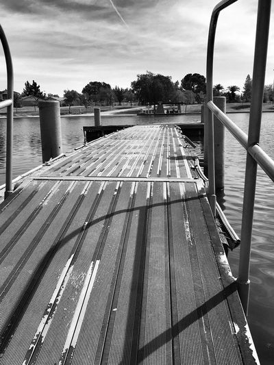 Sky Cloud - Sky Day Water Tree No People Outdoors Nature Boat Deck Tranquility Check This Out EyeEm Gallery EyeEm Best Shots Walking Around Popular Photos Black And White Photography