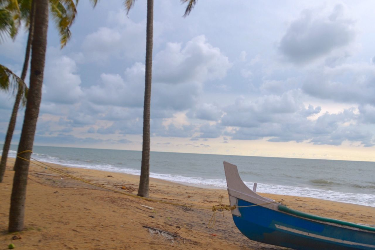 Periyambalam Beach Boat Sea Being A Beach Bum Beach Beach Photography Sea And Sky Being A Beach Bum