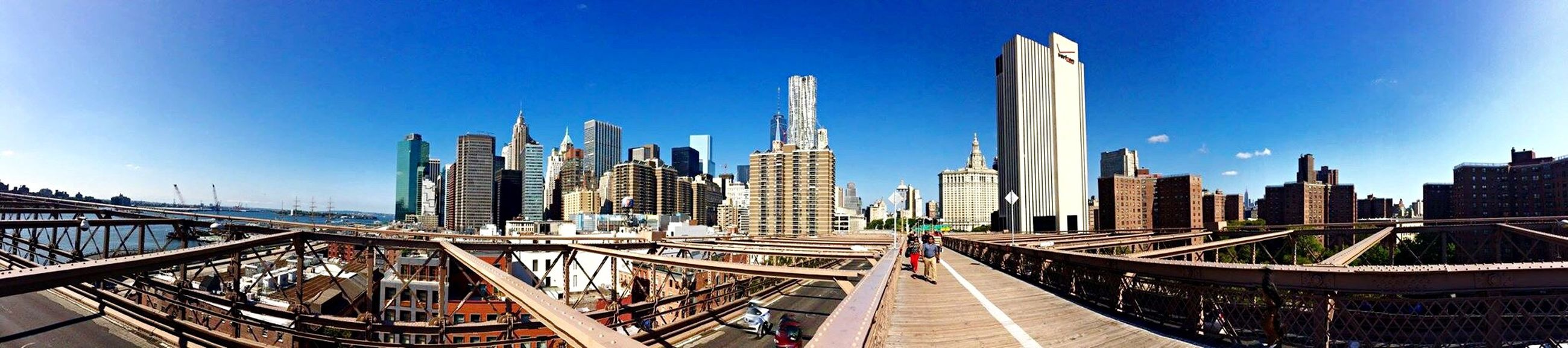 Amazing Panoramic Photography Hello World Hello New York! Brookline Bridge Taking Photos Traveling Bestoftheday