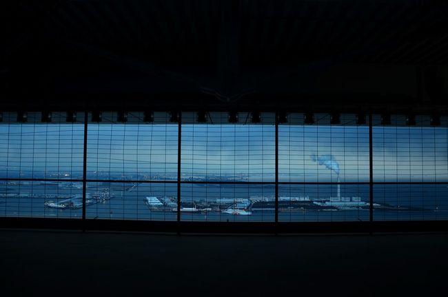 まるでスクリーンだよ Japan View 南港? Sky And Clouds 掘り出し写真