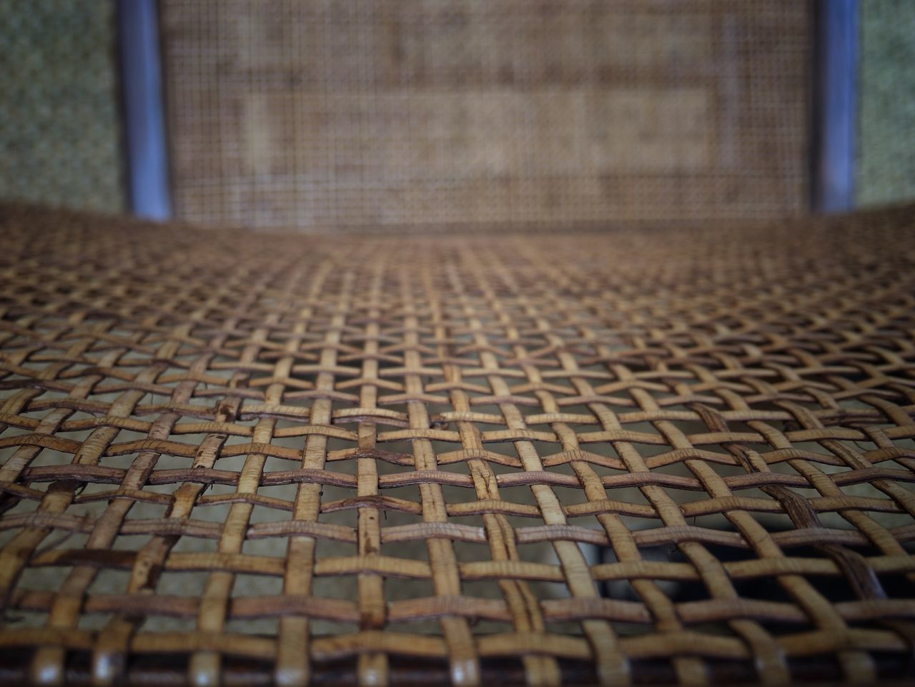 Maximum Closeness Rattan Chair