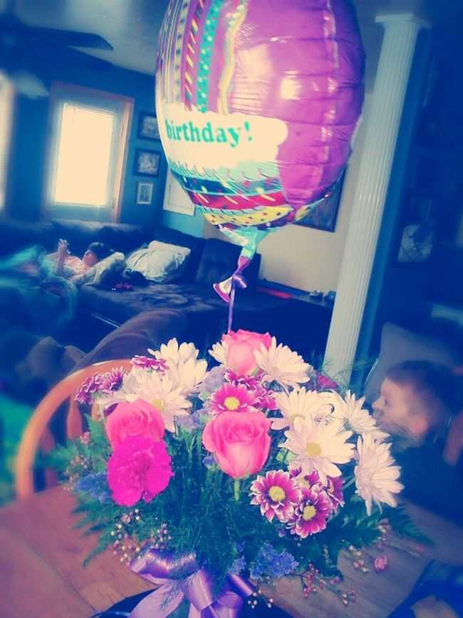 moms birthday preasnt from dad <3 happy birthday.