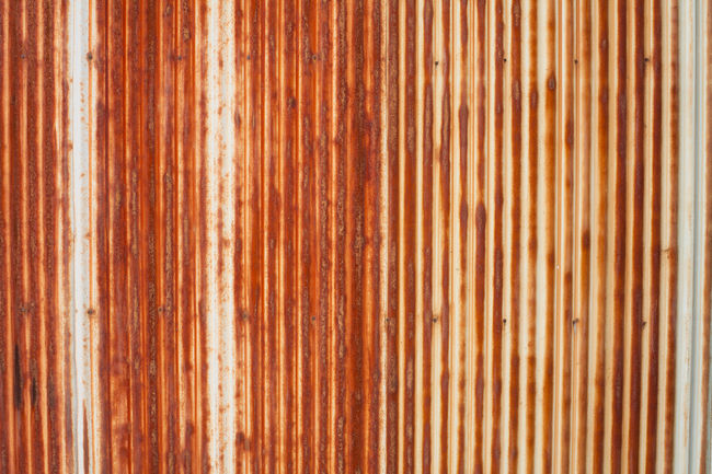 Abstract background photo of corrugated iron. Abstract Backgrounds Close-up Corrugated Iron Corrugated Metal Design Grange Iron Man Metal No People Pattern Russia Rust Rusty Rusty Autos Rusty Metal Vintage