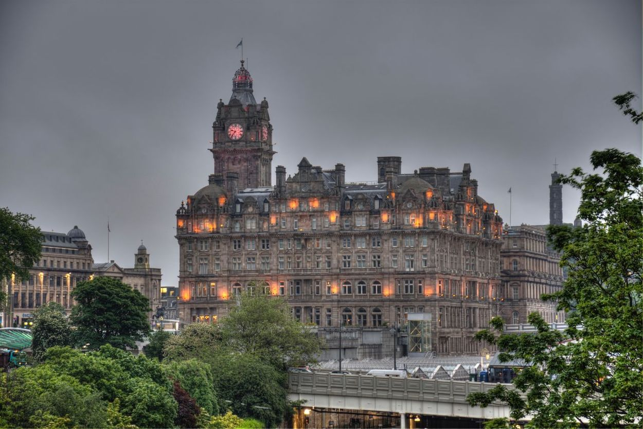 The Balmoral Edinburgh Scotland
