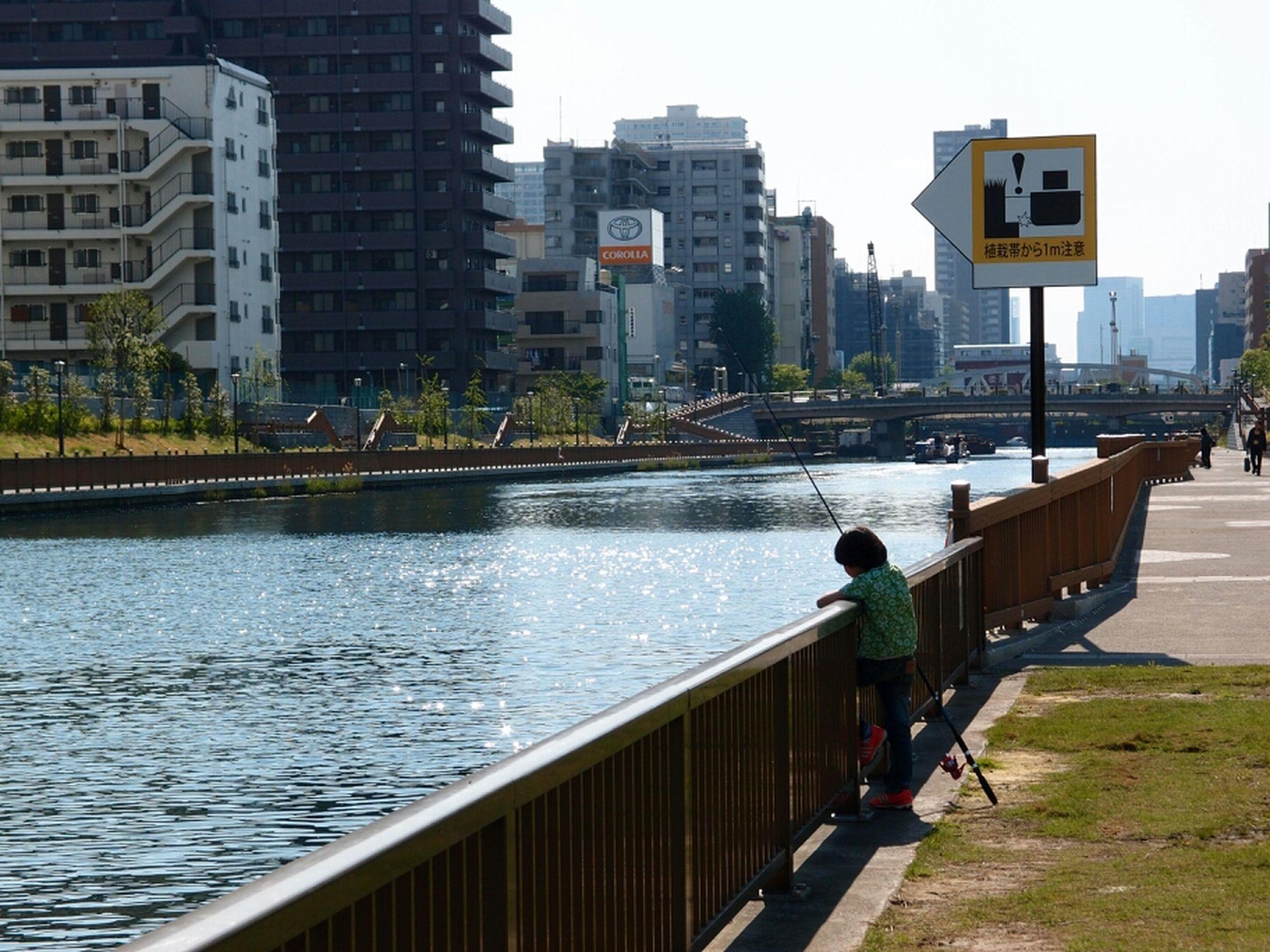 江戸前の釣りはハゼに始まりハゼに終わるってね。だがまだ魚ちっさい上に川は藻とクラゲだらけでだめだこりゃ。