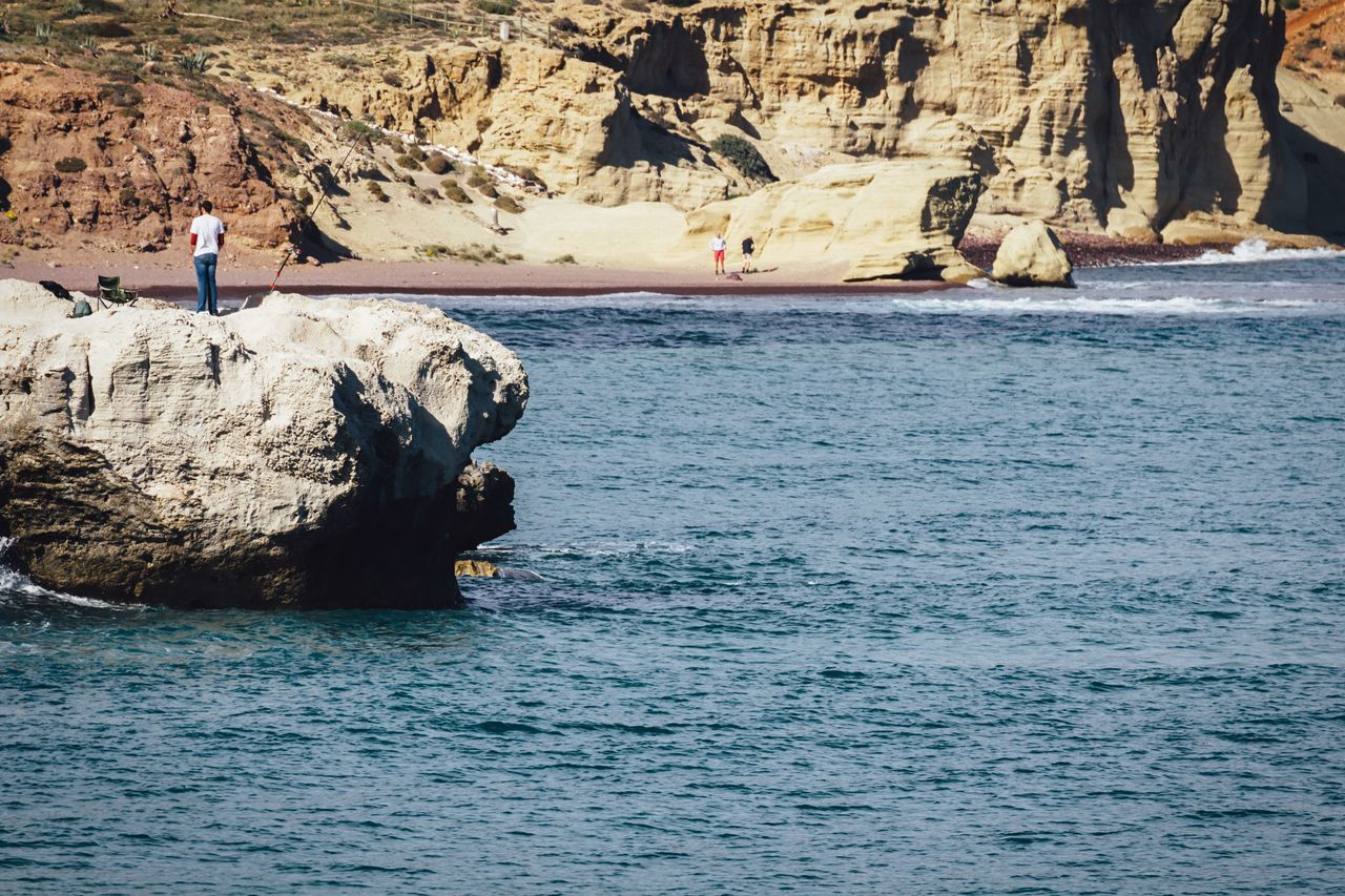 Beautiful stock photos of fishing, Beach, Blue, Calm, Day