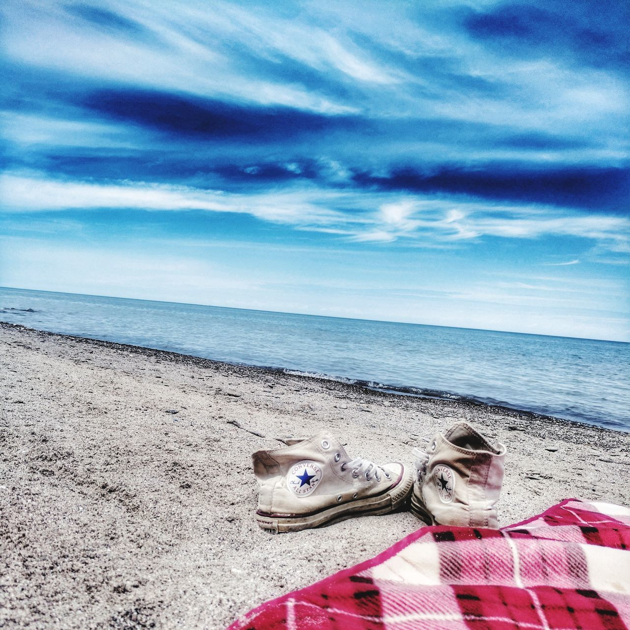 horizon over water, sea, beach, water, sand, sky, nature, beauty in nature, cloud - sky, scenics, tranquil scene, outdoors, no people, tranquility, day