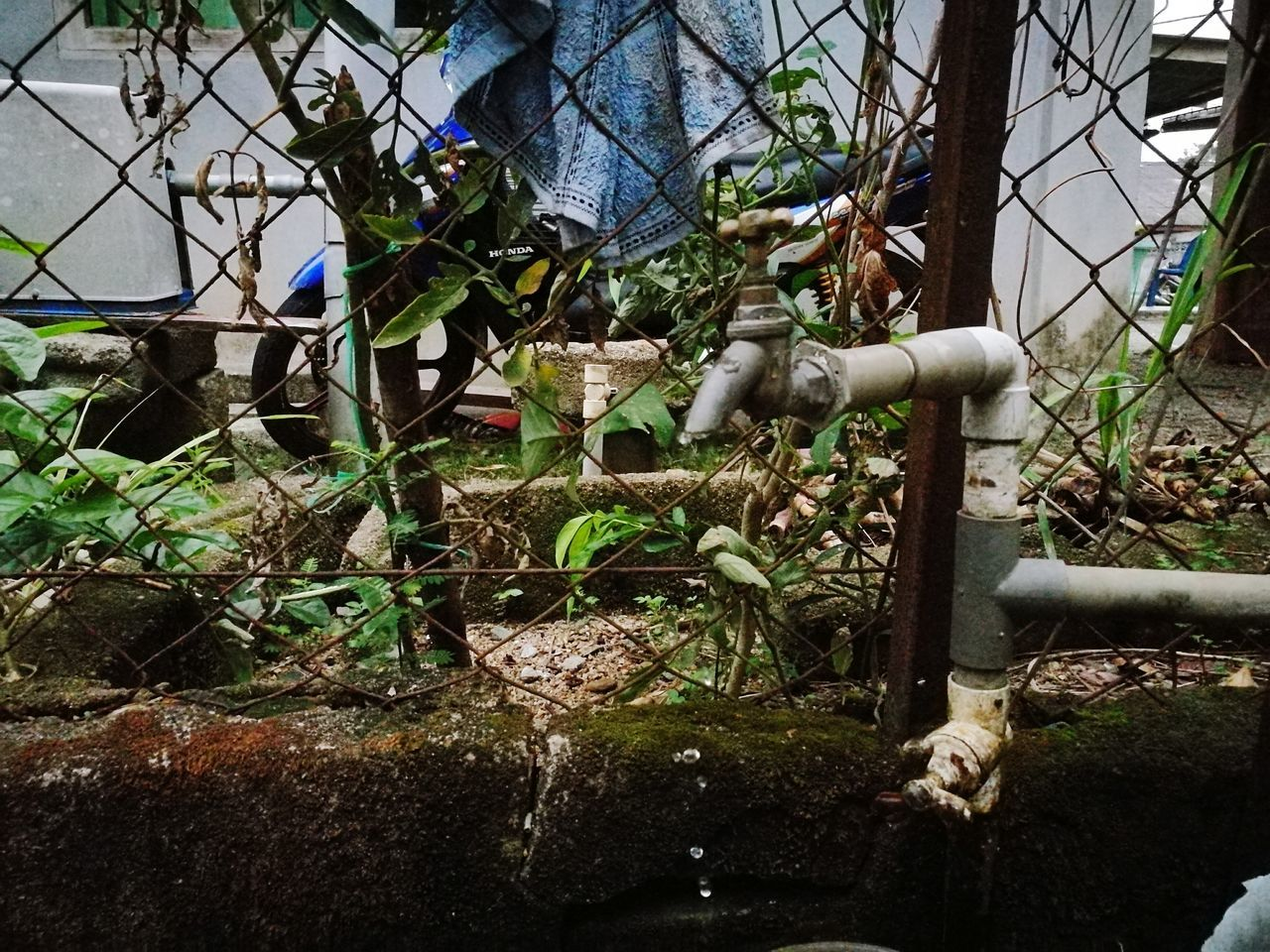 Never knew a loose water pipe can be turned into art. A Home Is Where The Art Is Villagelife Waterdroplets