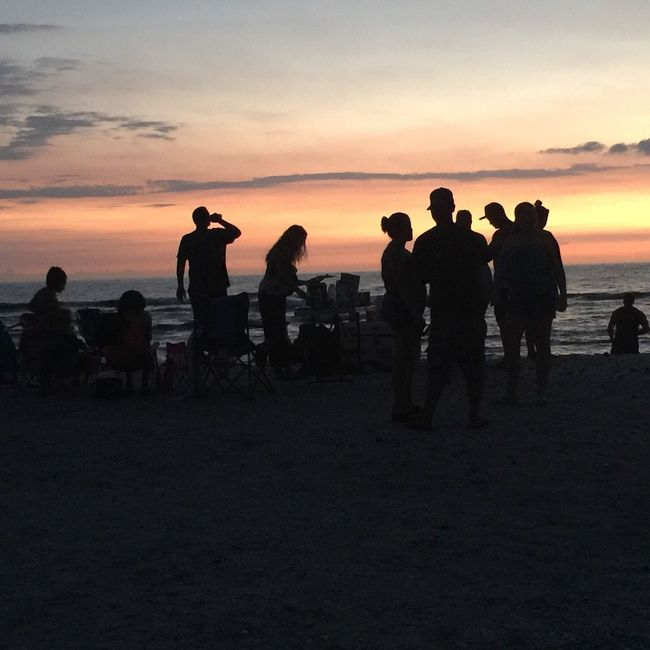 Feel The Journey Beach Life Beach Barbecue Pinetrees Kona Hawaii Traveling Meeting Friends Meeting New People Local Culture Island Life Sunset Silhouettes Hawaii Life