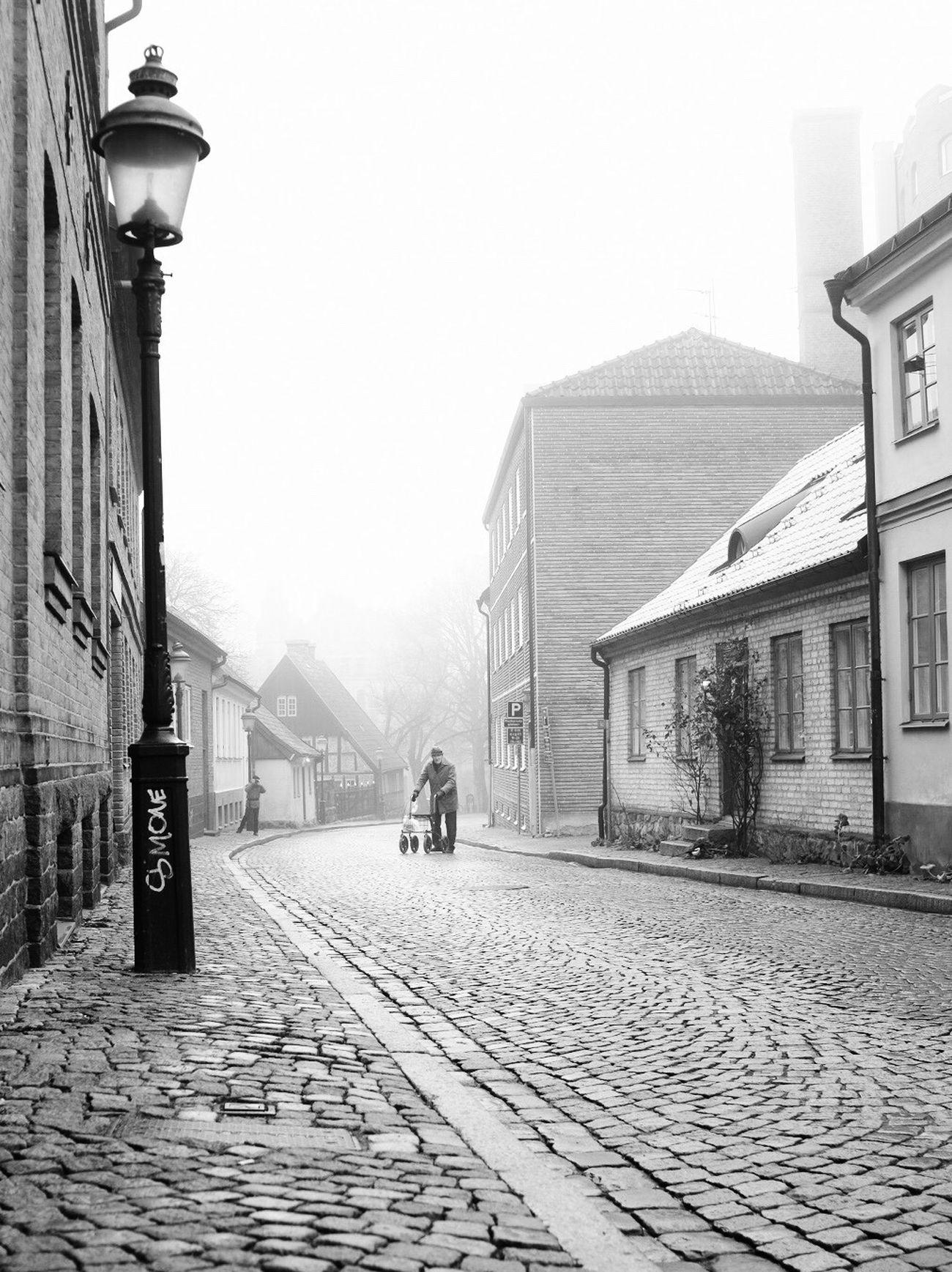 City EyeEm Best Shots - Black + White Cobblestone Black And White Street Photography Monochrome Fog Tranquility Bw_collection