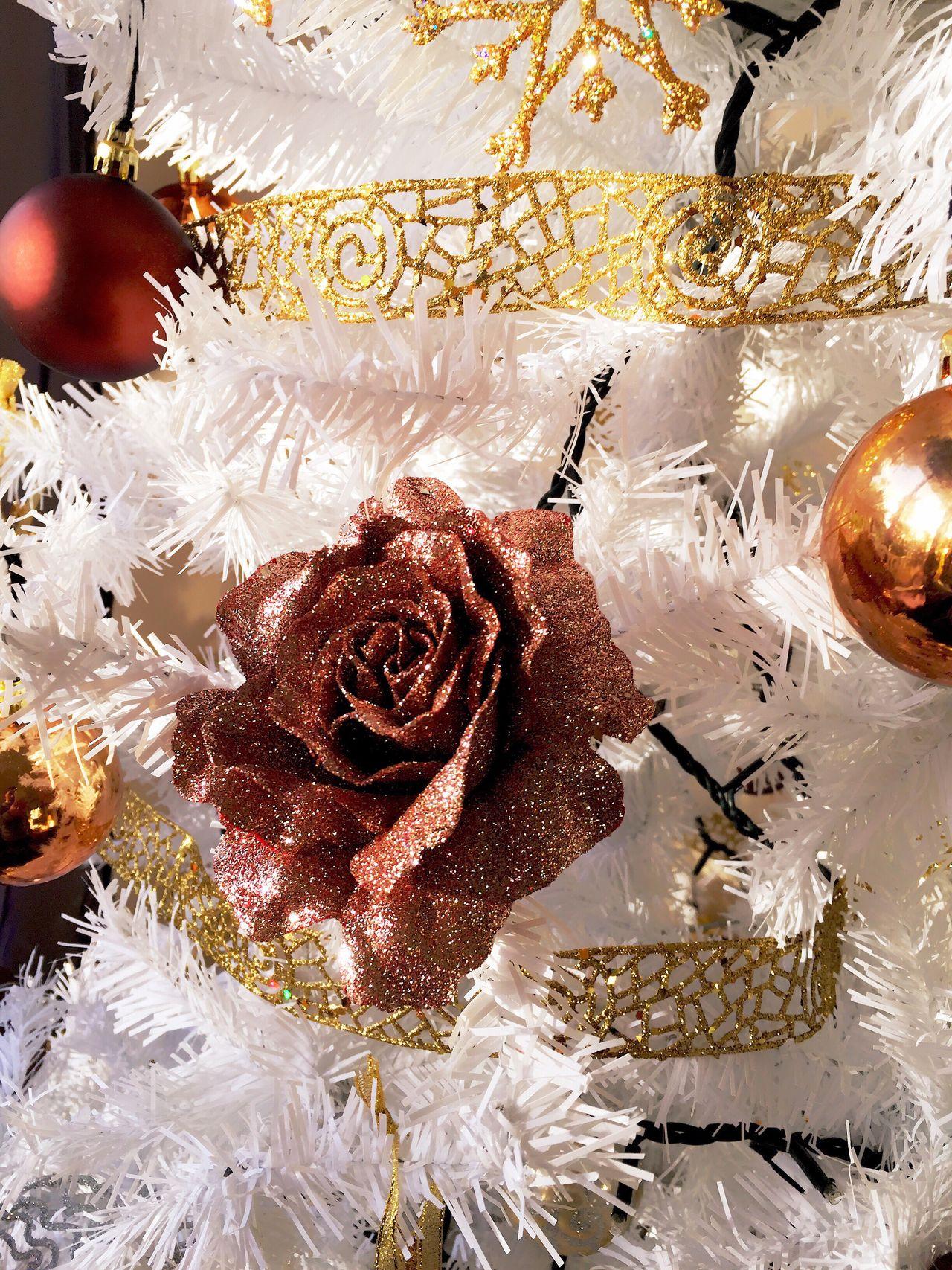 Natal Christmas Tree Christmas Decorations Roses Christmas Ornament Christmas Decoration Arvoredenatal Decoracaodenatal Decoration Decoração