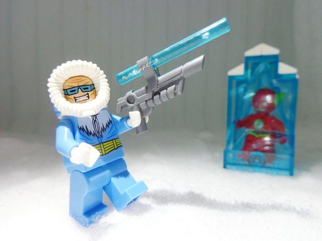 Gotcha! Legominifigures DC Theflash Captaincold
