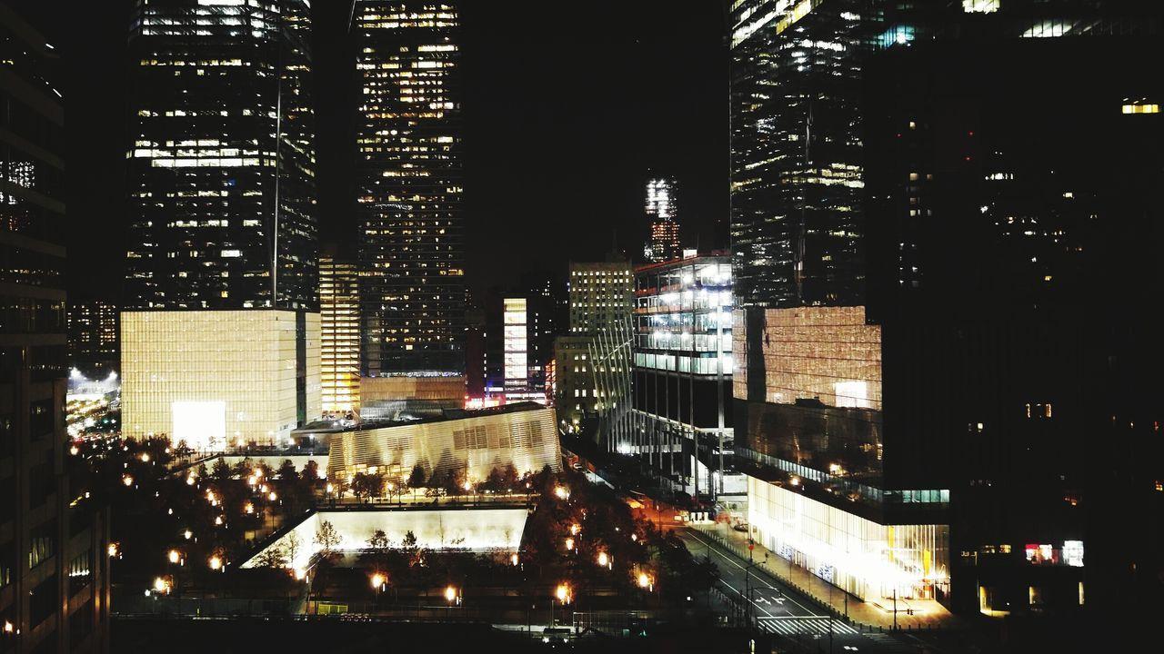 architecture, illuminated, city, building exterior, night, skyscraper, built structure, modern, cityscape, travel destinations, outdoors, no people, urban skyline
