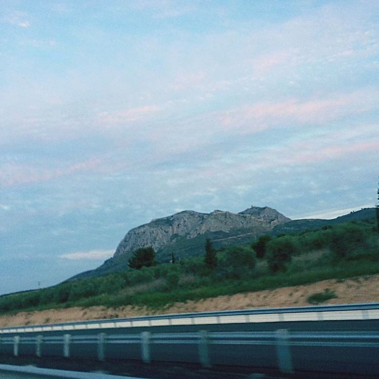 Transcend Ontheroad Trip Highway Rock Castle Velocity Greece Korinthos