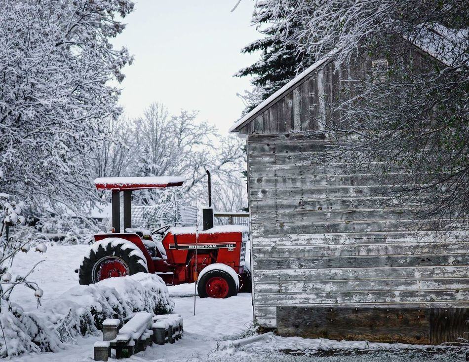 International Harvestor Tractors Tractor Farm Life Country Life Farming It's Cold Outside My Winter Favorites International Harvester