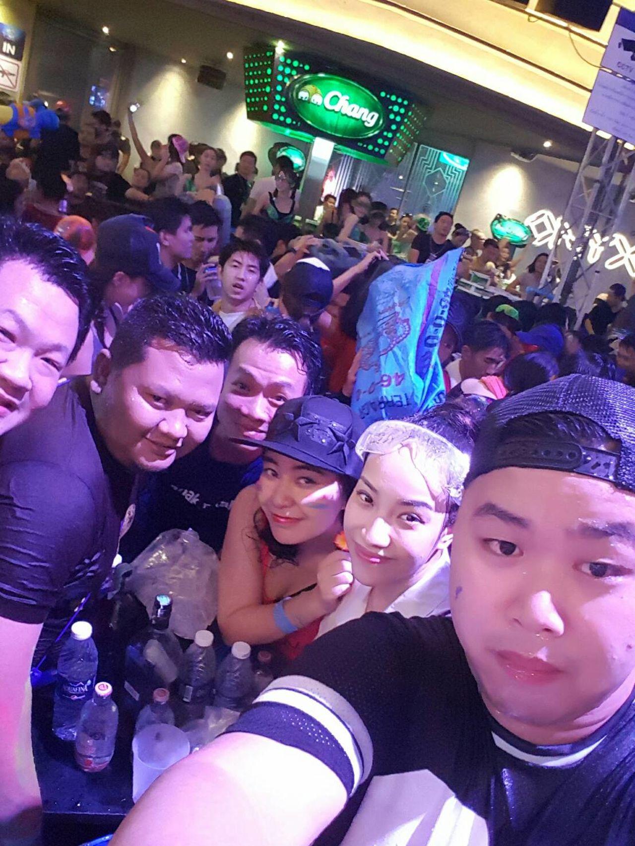 Party Dancing Music Dj Set Cool Crowd Songkran Festival Watersplash Songkran 2016 Bangkok Thailand. Colour Of Life Festival Season Music Brings Us Together Music Is My Life