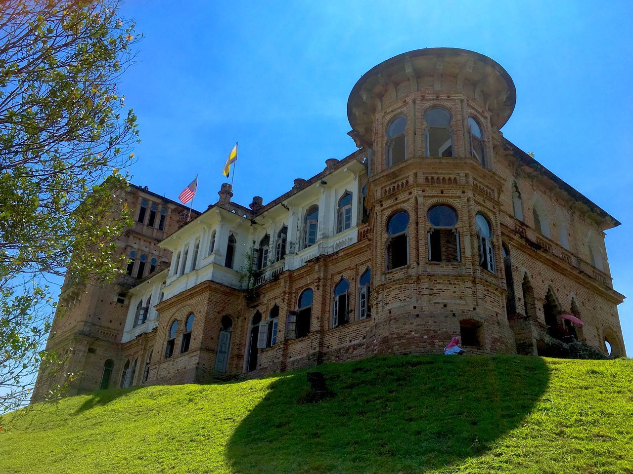 Landscapes With WhiteWall Kellie' Castle Old Architecture Amazing Architecture Old Buildings Ipoholdtown Love Traveling Great View Architecturelovers Abandoned Buildings