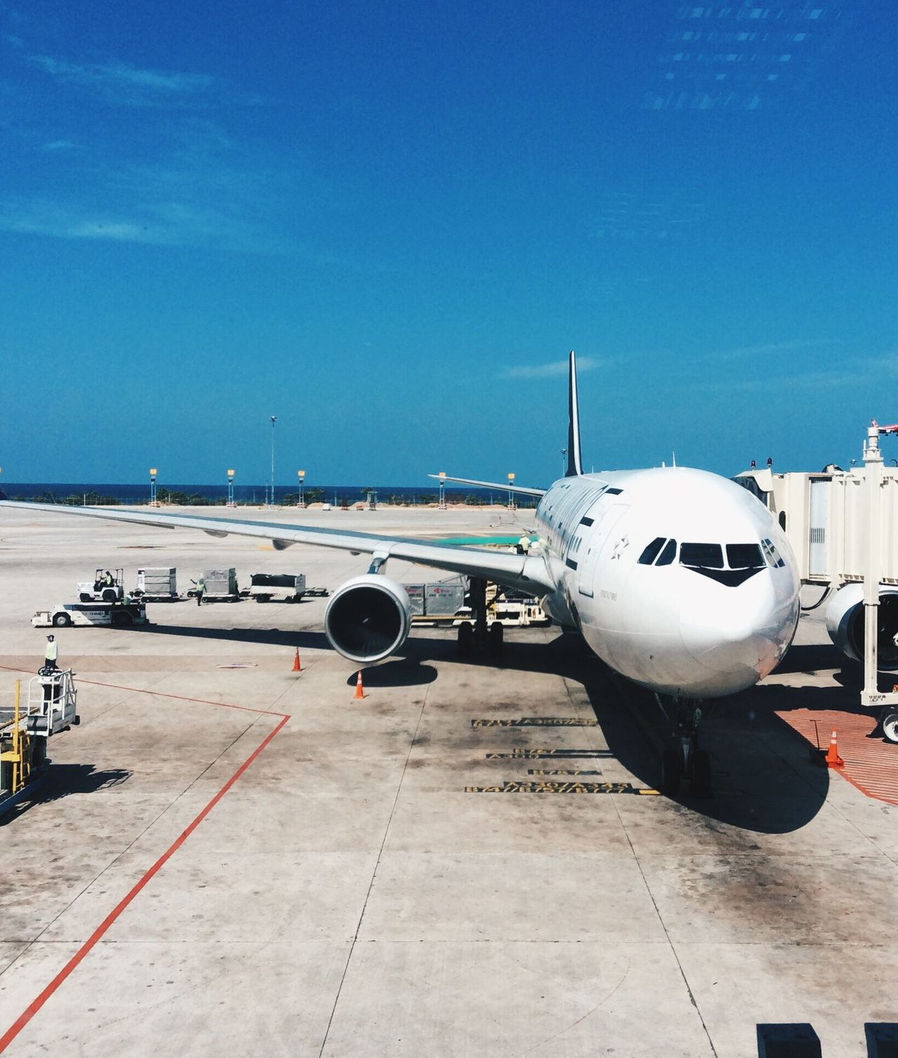 Phuket International Airport, Thailand Airport Plane Starting A Trip On A Holiday Thailand Catching A Flight Vacation Time Summer Journey Flight