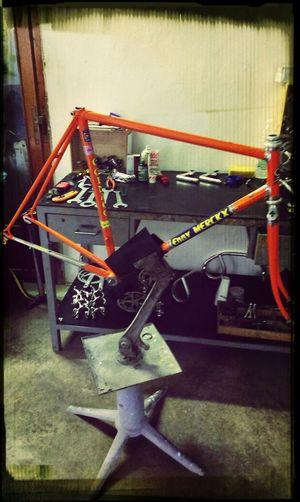I am working on Colnago Master style Eddy Merckx Bike