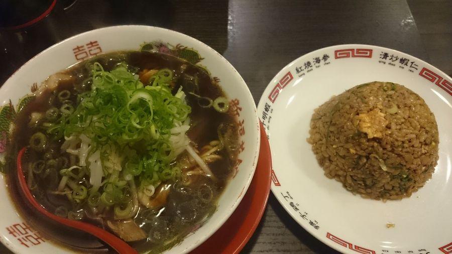 中華そばと焼きめし小 Ramentime🍜 Delicious ♡ Cool