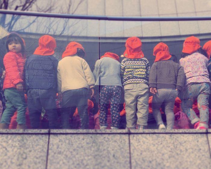 Real People Outdoors Full Length Warm Clothing Standing Kids Japanese Kids Japan Taking Photo