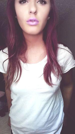Make everybody feel like a somebody💜 Purplehairdontcare PurpleLips Serendipity First Eyeem Photo