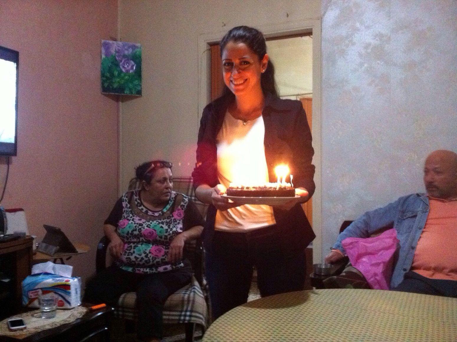 Oop! Again My Birthday Cake Yaiiii Happy Go Luck Forever