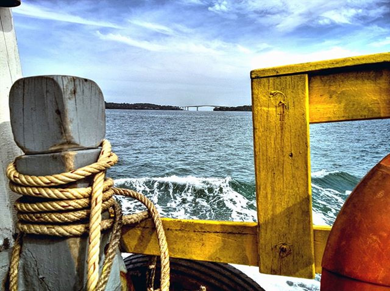 Boat view of the bridge linking Snake Island and Sihanoukville. Lumia930 Mobilephotography WindowsPhonePhotography WeLoveLumia ShotOnMyLumia  Lumiaography Theappwhisperer Makemoments MoreLumiaLove GoodRadShot TheLumians Fhotoroom Lumia PicHitMe EyeEm EyeEm_O MenchFeature Photography Nban NbanFamily Pixelpanda Visitorg Aop_Lab Natgeo Natgeotravel NatGeoYourShot AdventureVisuals Cambodia PhnomPenh My_Mobile_Photography @fhotoroom_ @thelumians @lumiavoices @pichitme @windowsphonephotography @microsoftwindowsphone @microsoftlumiaphotography @mobile_photography @moment_lens @goodradshot @mobilephotoblog @street_hunters @lumia @pixel_panda_ @eyeem_o @photocrowd @photoadvices @nothingbutanokia @worldphotoorg