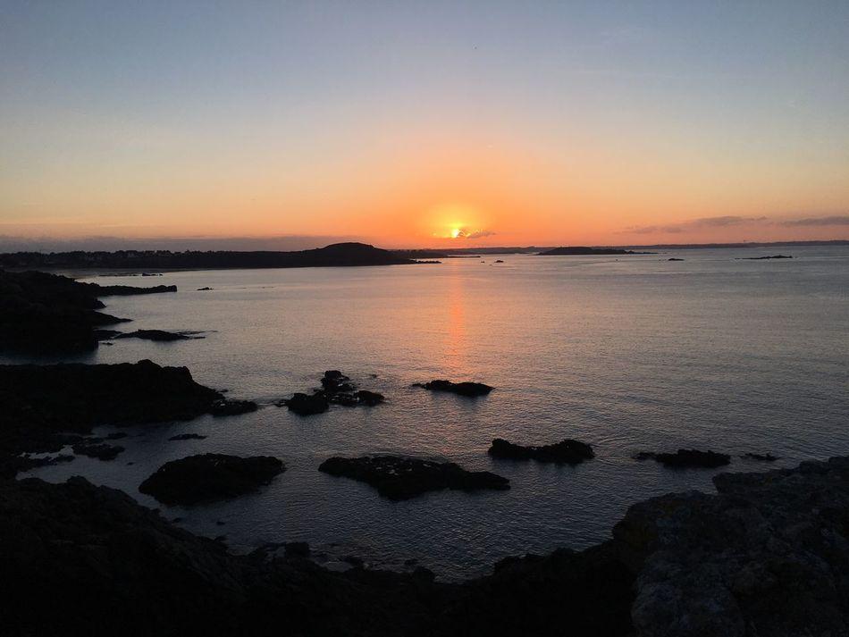 Coucher De Soleil Ocean Bretagne Soleil Beauty In Nature Instamoment EyeEmNewHere