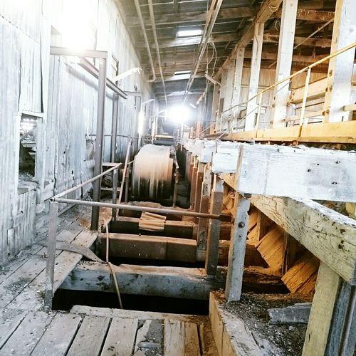 Old mill at Broken Hill Mining Heritage Mining Town