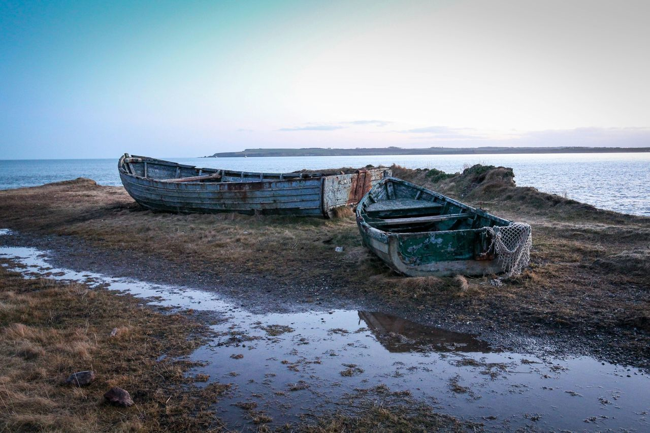 Beautiful Wreck Boat Wreck Rustic Beautiful Seascape Coastline Angus Scotland Eyem Best Shots
