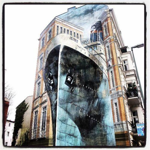3D Effect! Wallart Painting Building Berlin Flatwall Shiponawall Illusionofthecity Justclick