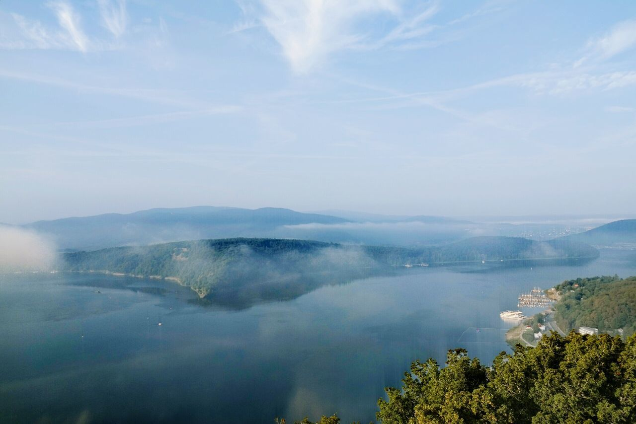 Good morning friends... Arial View Arialphotography Edersee  Heimat Silent Moment Clouds And Sky Sunrise And Clouds The Essence Of Summer Water Reflections My Point Of View Capture The Moment Relaxing Enjoying Life