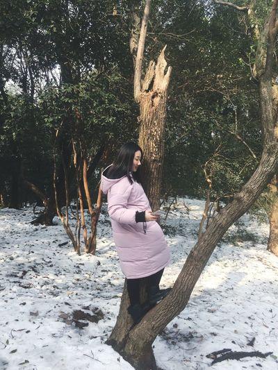 岳麓山 One Person Full Length Day Outdoors Nature Leisure Activity Lifestyles