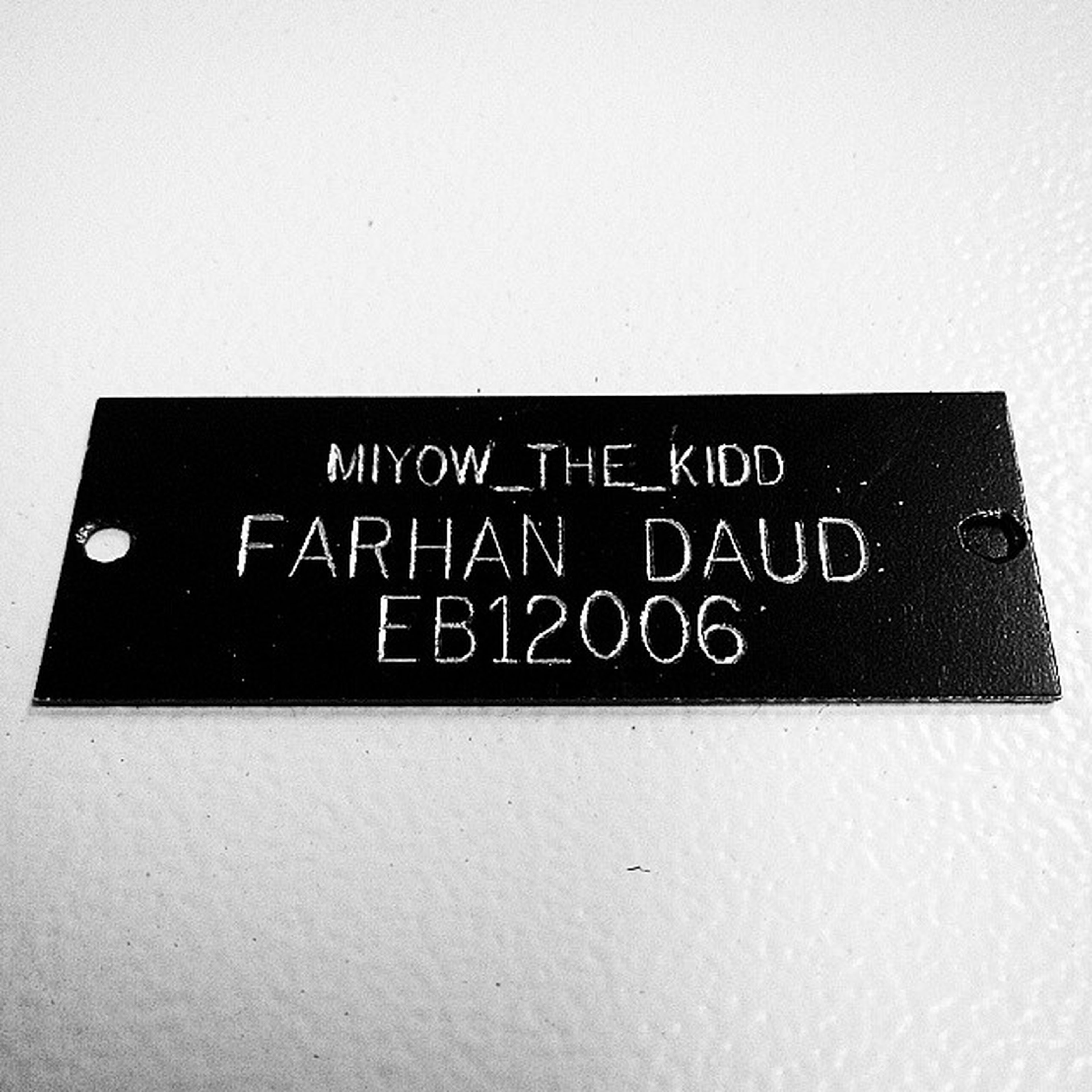 Student ID old fashioned. Proud to be Umpian!!!! Ump Lastsemester Lkssb .com Engrave project production industrial_training